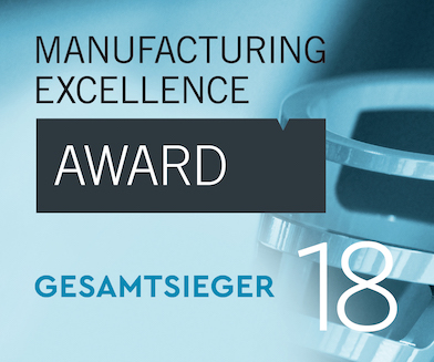 Logo Manufacturing Excellence Award