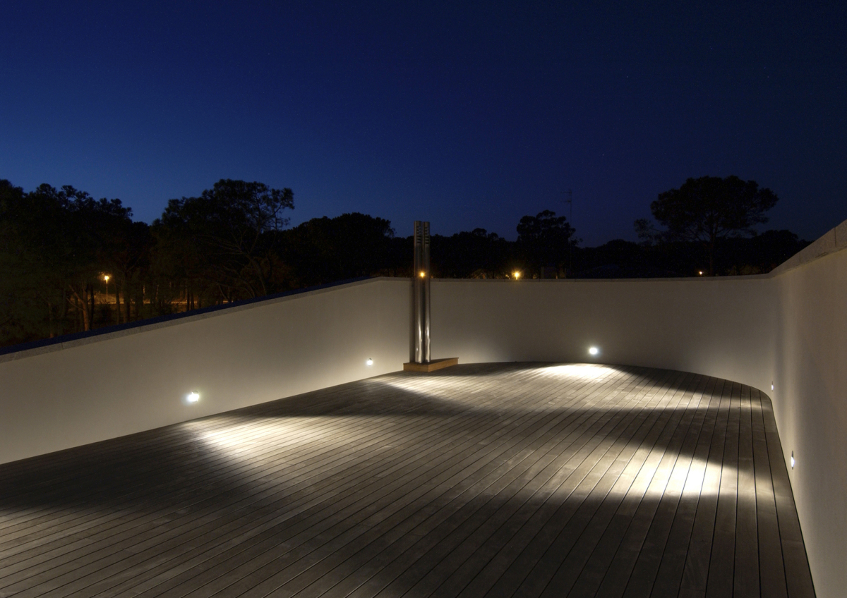 Private residence in Palamós. Architecture and lighting design: Jordi Garcés, Barcelona.
