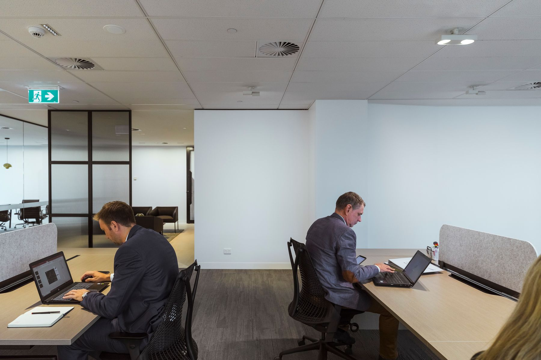 Memocorp Office. Architecture : Girvan Waugh, Sydney. Photographie : Jackie Chan, Sydney.