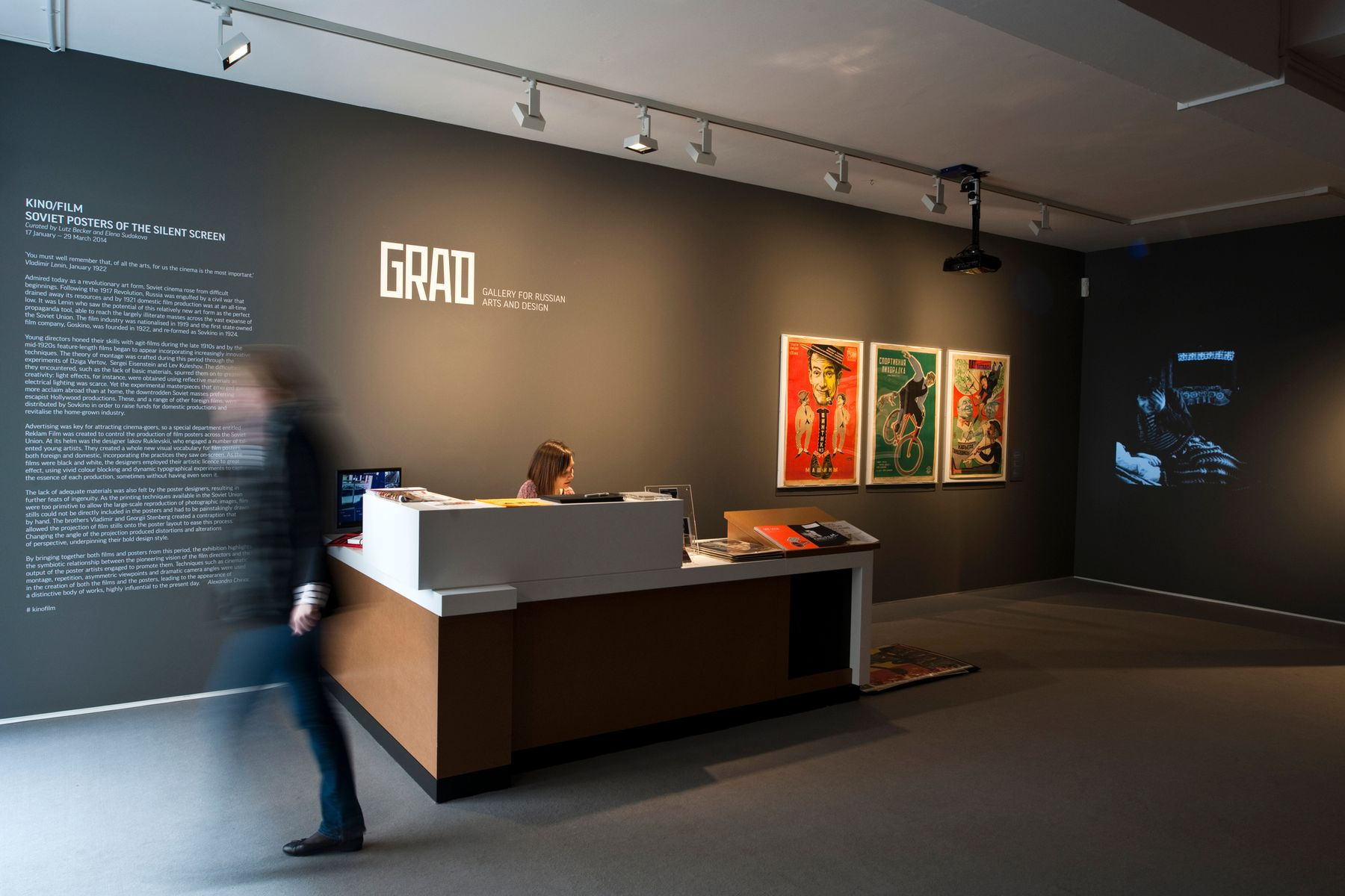 Gallery for Russian Arts and Design (GRAD), Londra. Fotografia: GRAD and Antikbar.