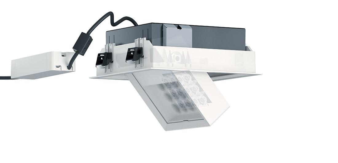 erco leuchten finden einbaustrahler einbaufluter und einbauwandfluter light board. Black Bedroom Furniture Sets. Home Design Ideas