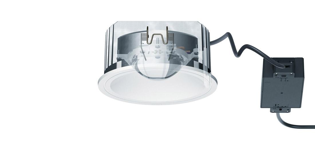 Indoor Recessed Luminaires Skim