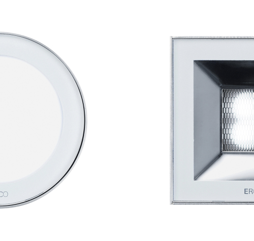 Nadir IP67 square - Available in round or square