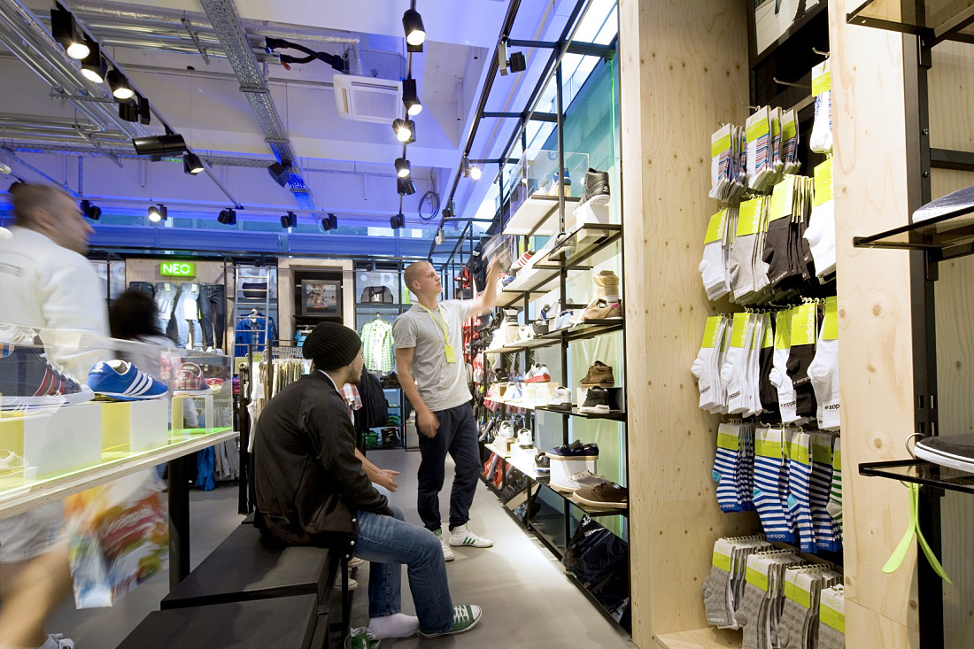 Projects - Shop - adidas NEO Store, Tauentzienstrasse f207bb4366
