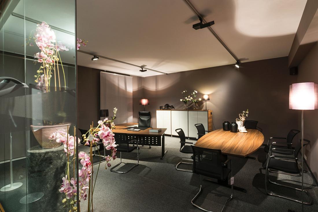 ERCO - Discovering light - Shop - Blaha Office showroom, Korneuburg