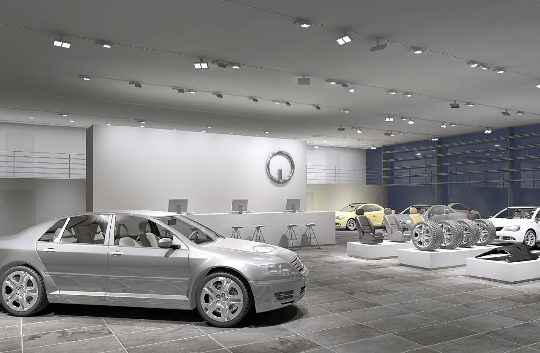 Indoor Car Dealership