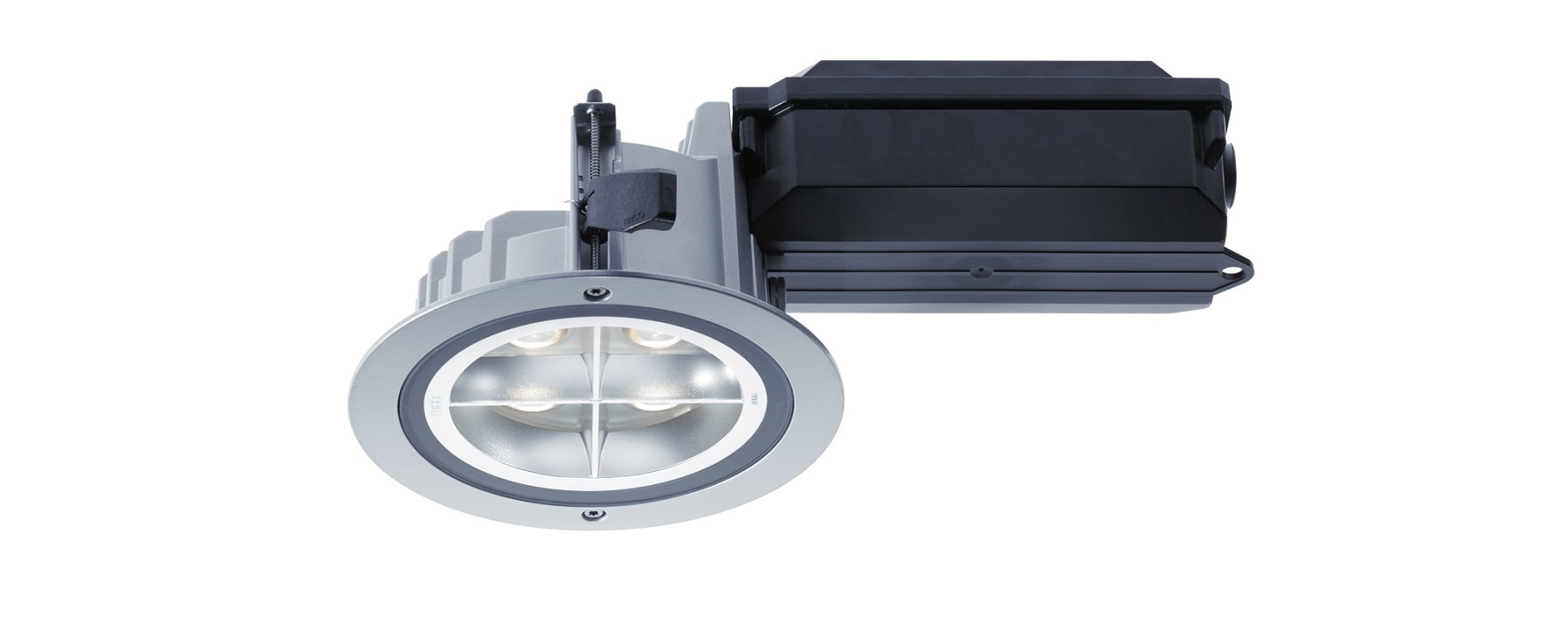 Outdoor recessed luminaires compact for Luminaire outdoor