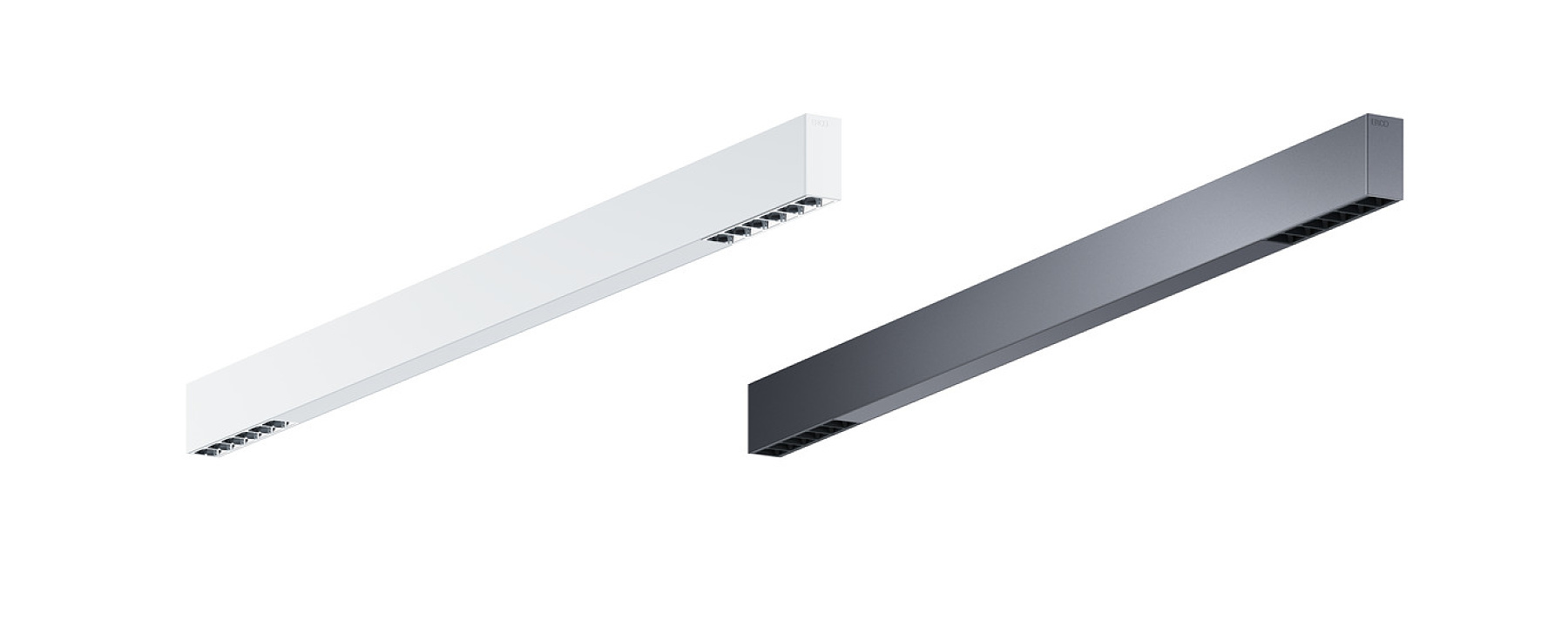 Compar linear - Downlights apparents