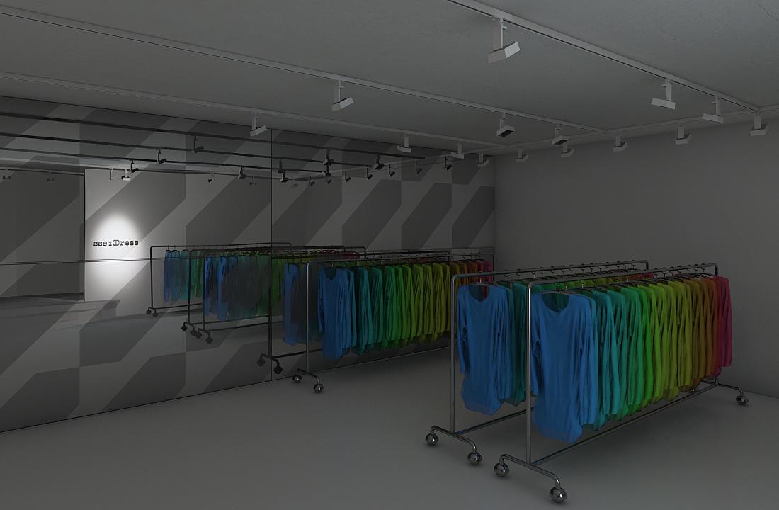 ERCO - Service - Planningsvoorbeelden Binnenverlichting - Modewinkel