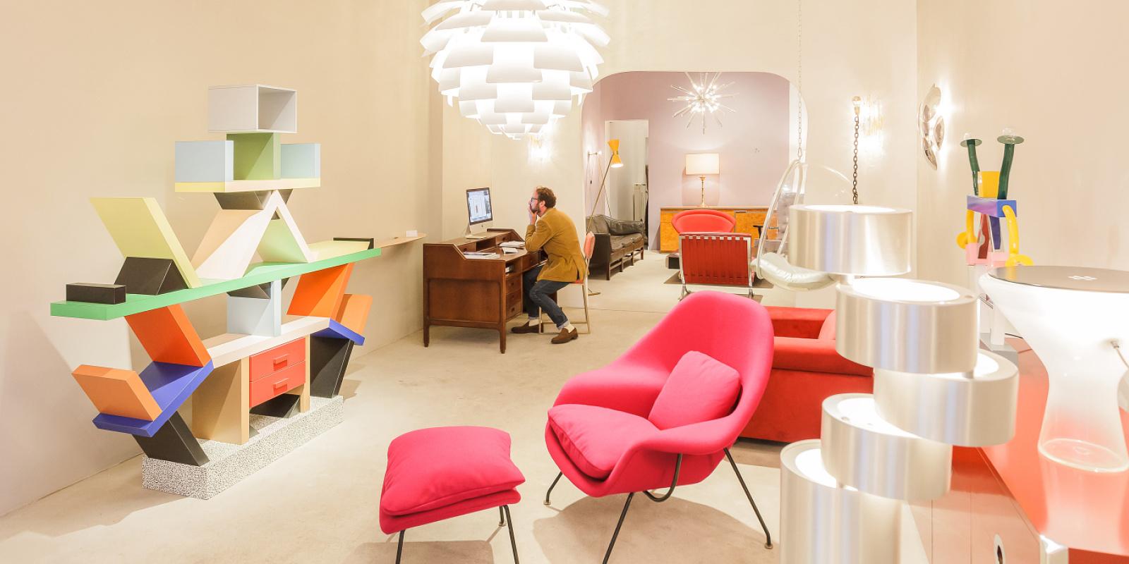 report firma london vintage furniture store berlin. Black Bedroom Furniture Sets. Home Design Ideas