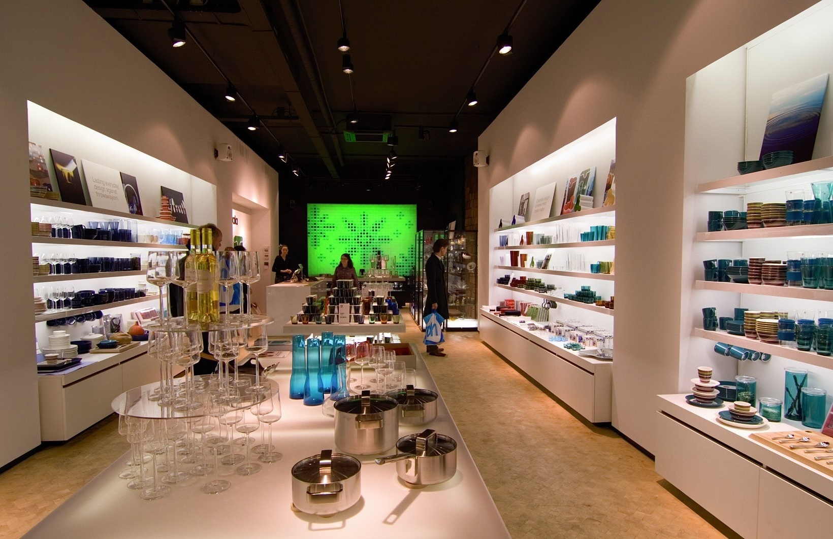 erco  projects  shop  iittala flagship store -
