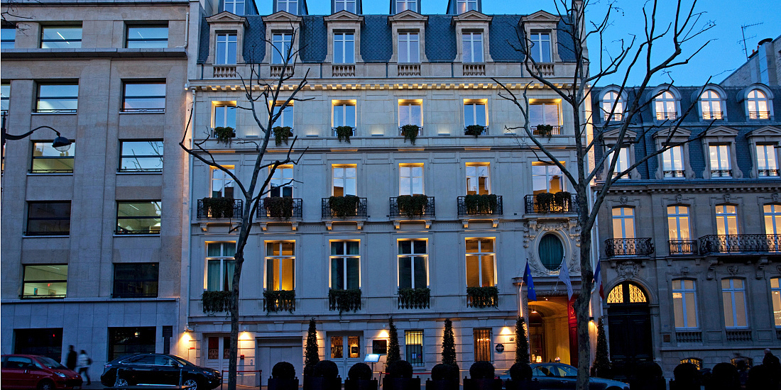 Hôtel Intercontinental Paris Avenue Marceau