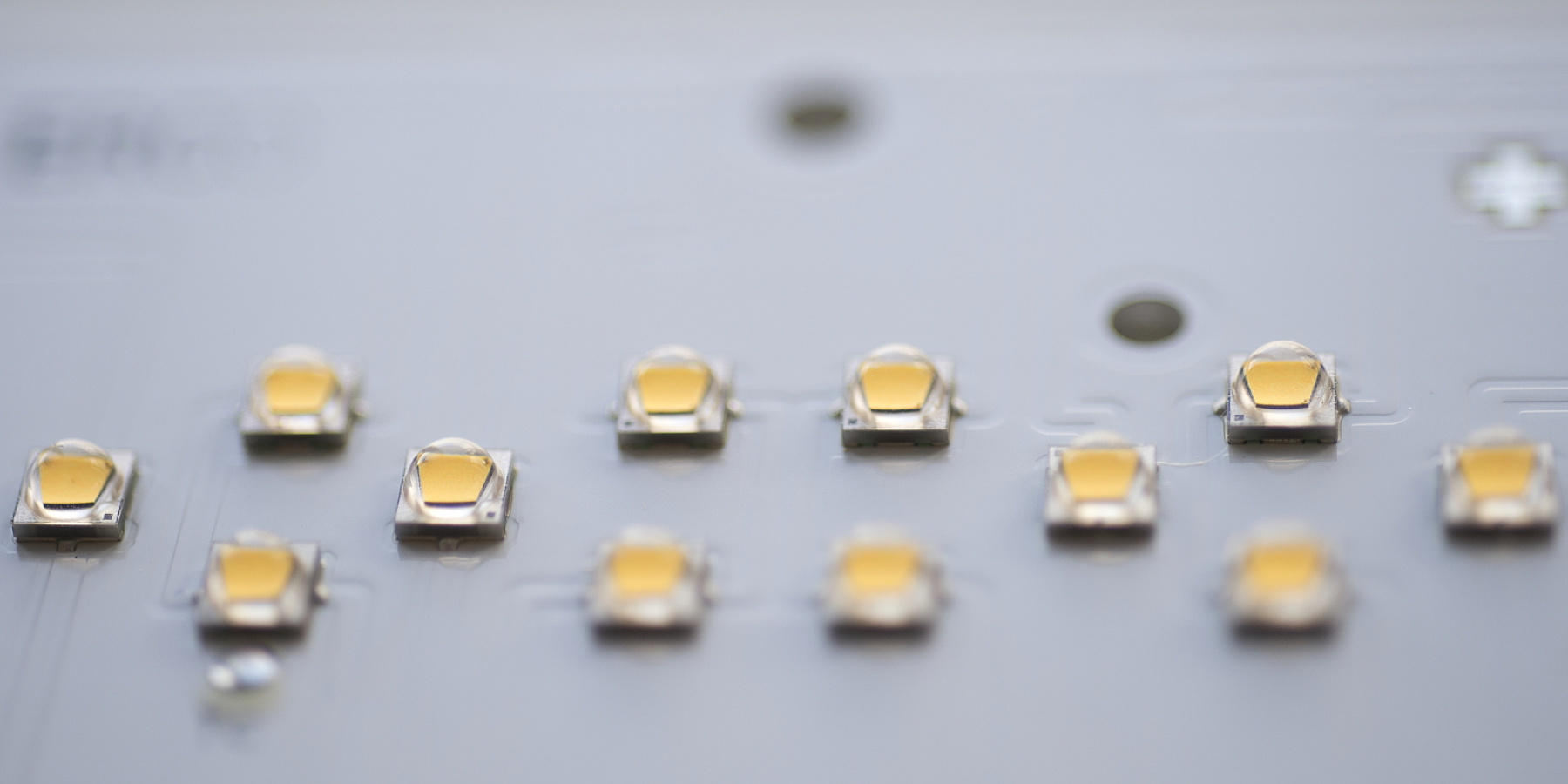LEDs in ERCO luminaires, ,