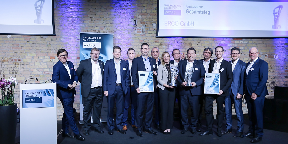 Manufacturing Excellence Award 2018