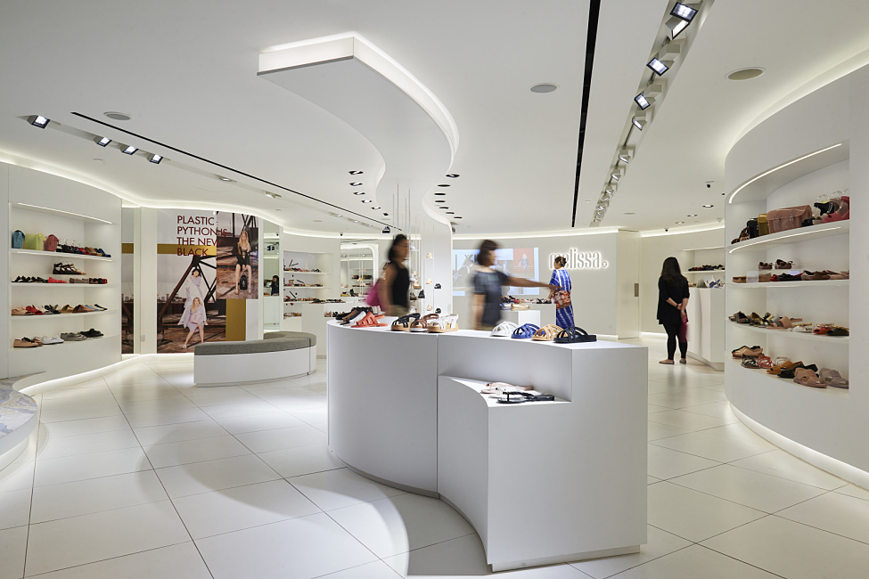 Melissa Flagship Store, Raffles City Shopping Centre, Singapur