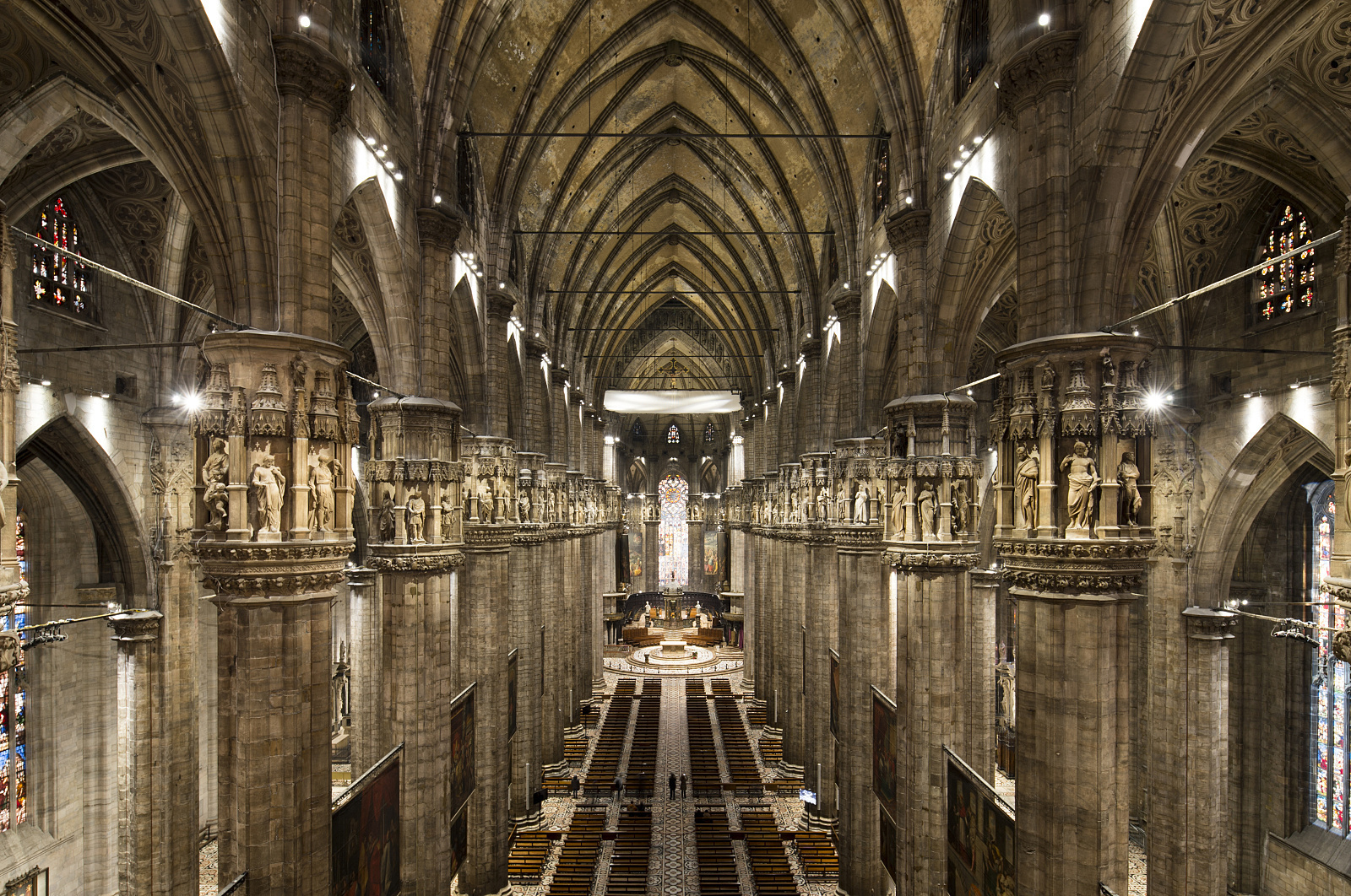 Projects Culture Milan Cathedral Erco