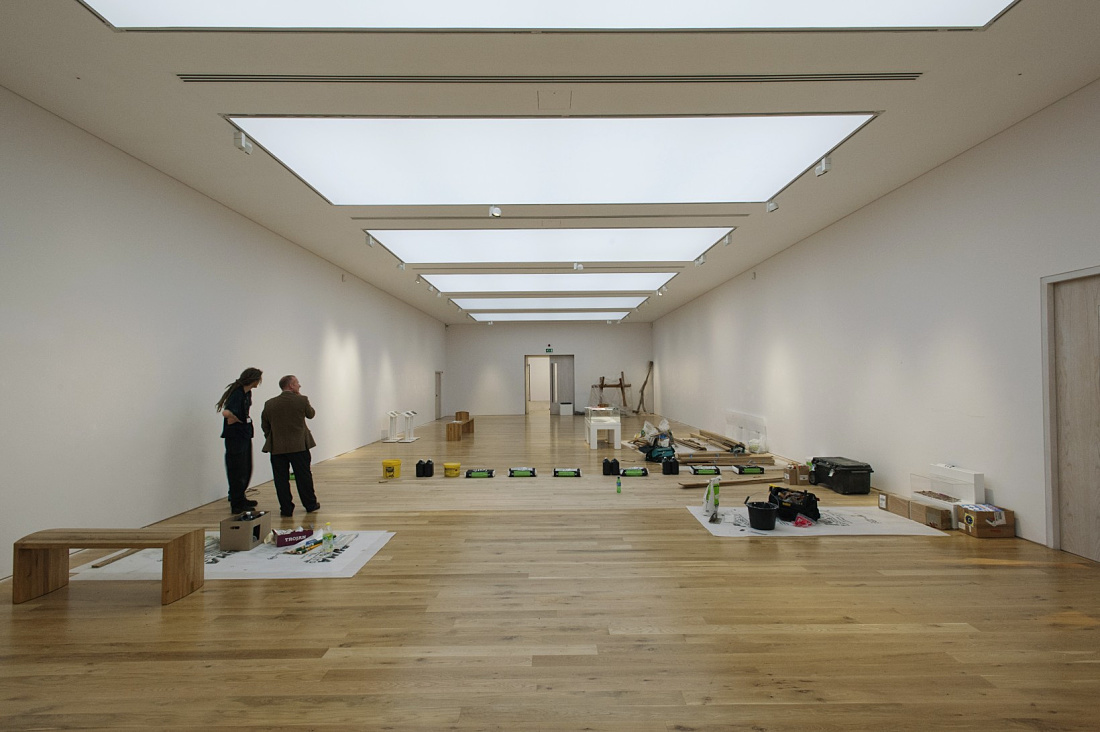 museum track lighting. Classic Gallery Lighting, Re-interpreted With LED Technology From ERCO: The Renovated Halls Combine Light Ceiling Elements All-round Track, Museum Track Lighting