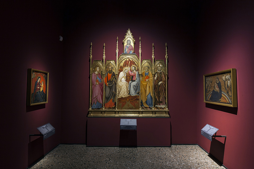 """Coronation of the Virgin"" (1415) by Andrea di Bartolo and Giorgio di Andrea, photo: Dirk Vogel"