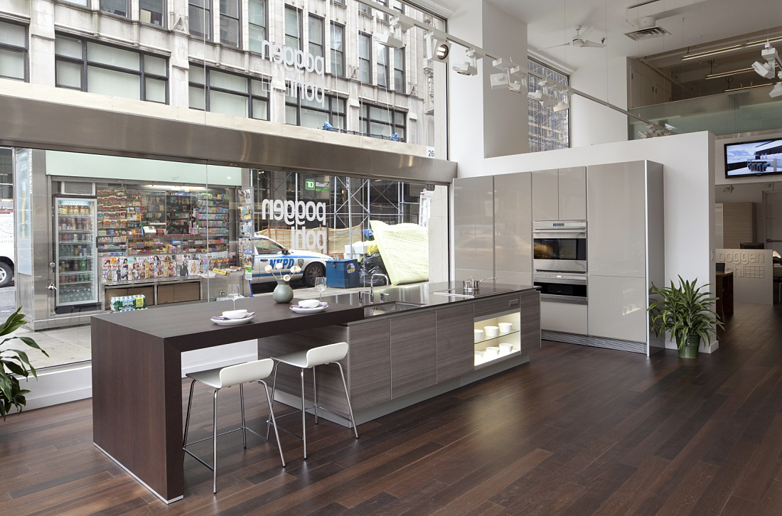Erco discovering light shop poggenpohl showroom park avenue - Kitchen design new york ...