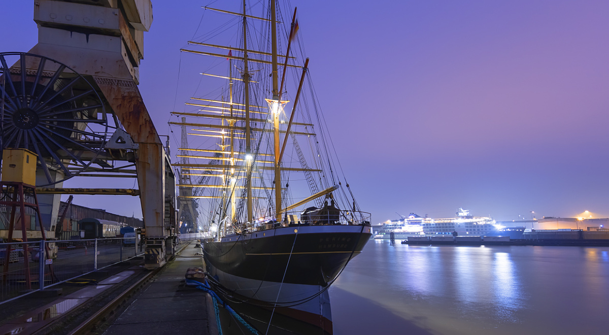 Custom-designed lighting solutions from ERCO for a seafaring legend