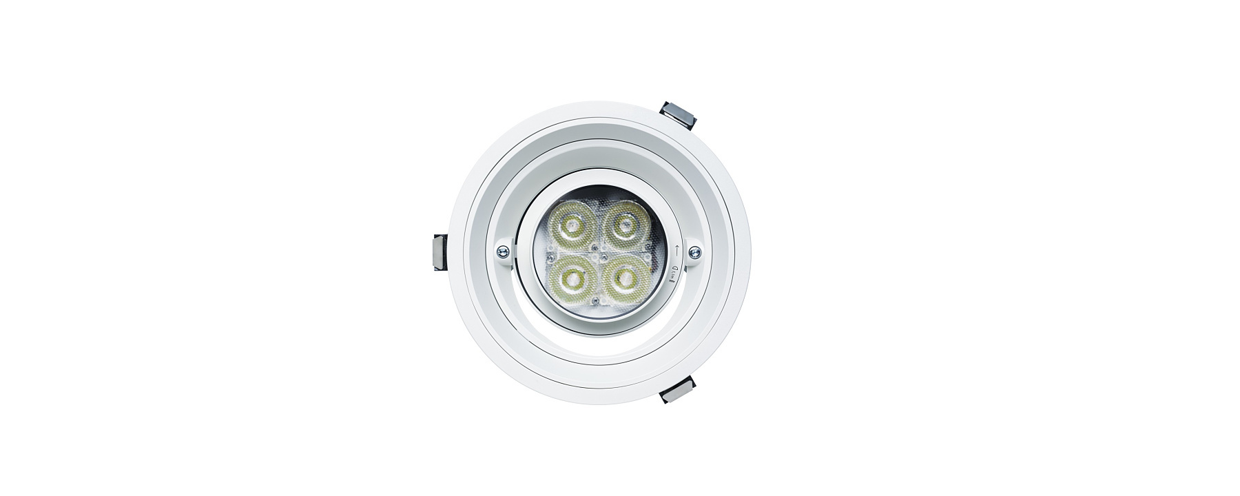 Quintessence round - Recessed spotlights, recessed floodlights and recessed wallwashers