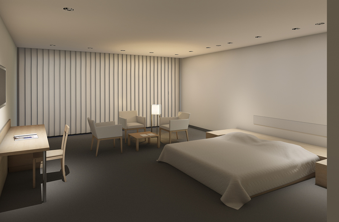 Erco service design examples indoor situations in for Design hotel glow
