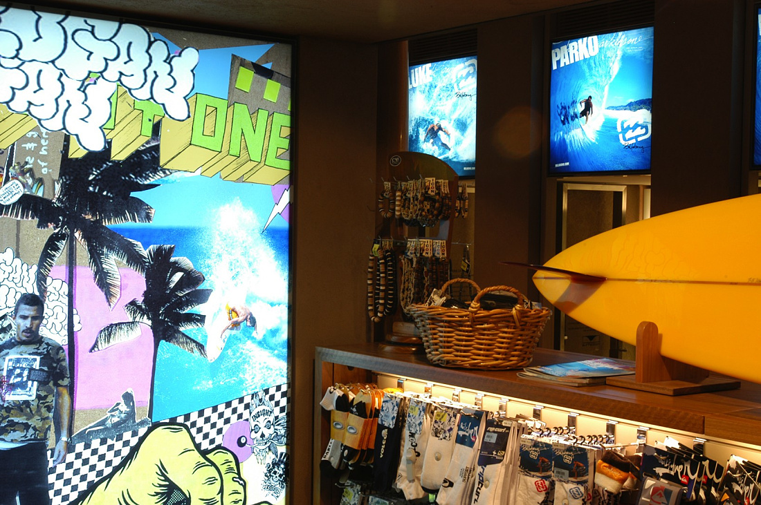 Boutique de surf Surfection