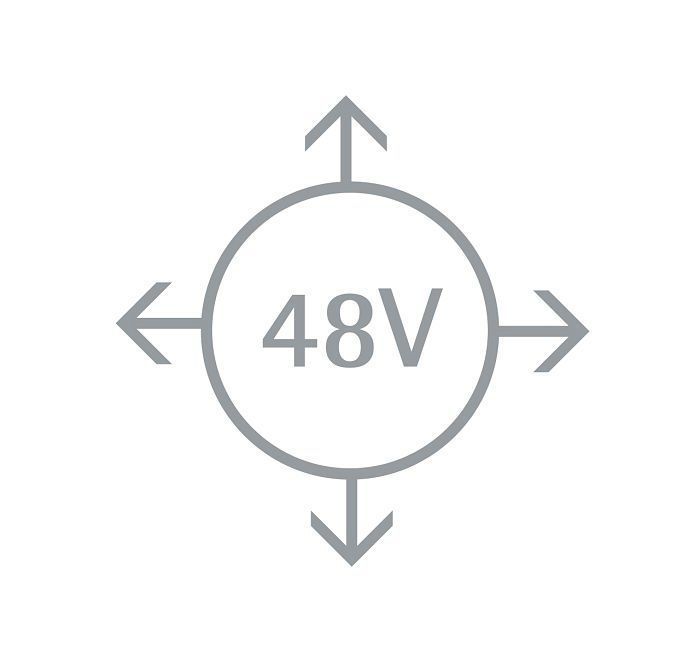 The advantages of a 48V system