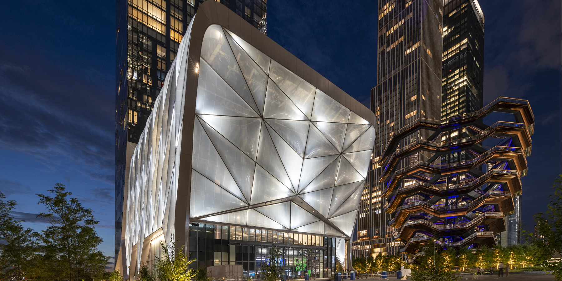 The Shed/Hudson Yards, New York City / ERCO, New York City, Hudson Yards, United States