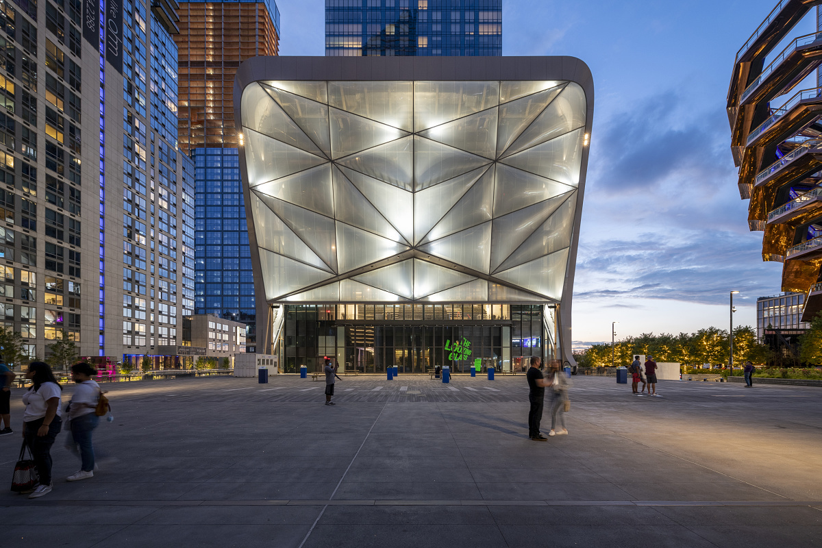 The Shed/Hudson Yards, New York City / ERCO