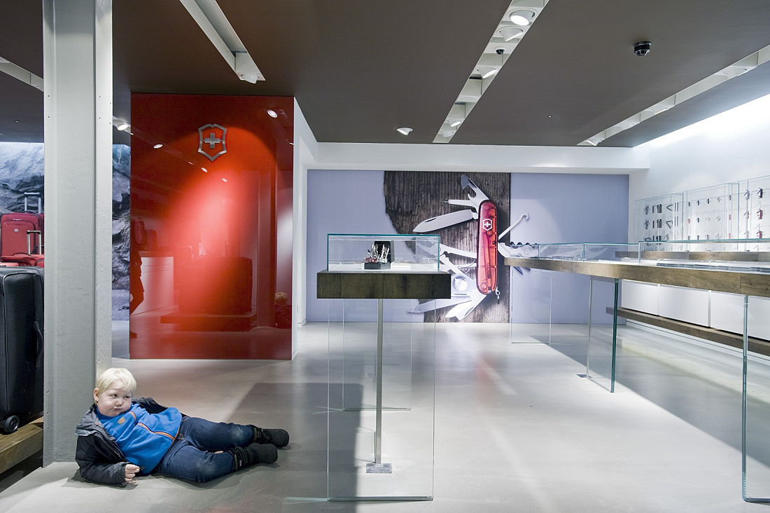 Magasin phare de Victorinox, Londres