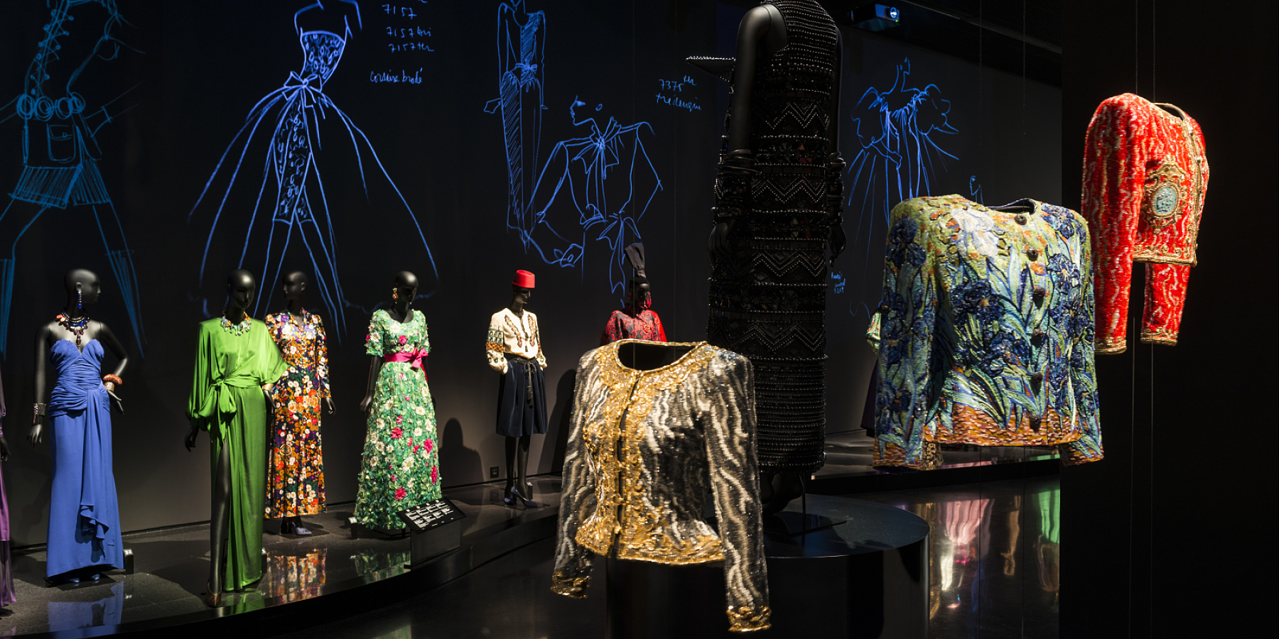 Yves Saint Laurent Museum, Marrakesch, Marrakech, Marokko