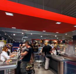 REWE supermarket, Hagen-Hohenlimburg