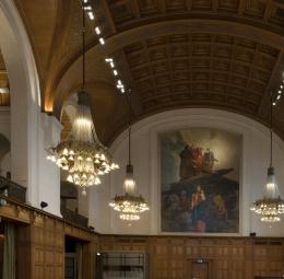 Fredspalatset, FN:s internationella domstol, Haag