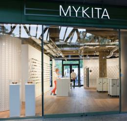 Mykita store in the Bikini Berlin concept mall