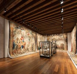 Museum of ancient tapestries and textiles at the Colegio de Infantes, Toledo