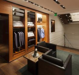 Ermenegildo Zegna fashion boutique