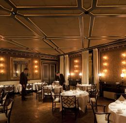 Restaurante Le Gabriel en el Hotel La Réserve, París