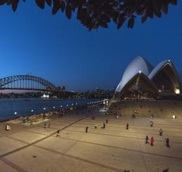 Forecourt of the Sydney Opera