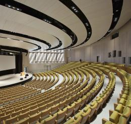 Auditorium of the Aula Medica at the Karolinska Institutet, Stockholm