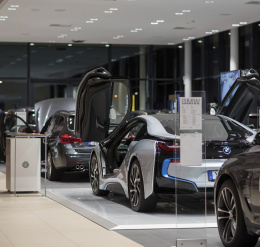Showroom BMW, Karlstad