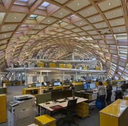 Sede central de Swatch y Cité du Temps, Biel/Suiza