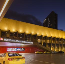 Melbournes kongress- och utställningscentrum (MCEC)