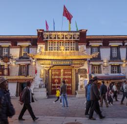 Jokhang Dazhao Tempel, Lhasa