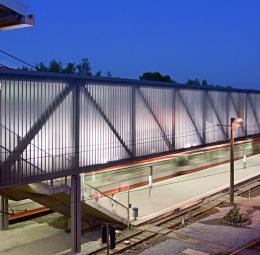 'Veltins Arena' platform roofing