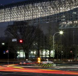 2010 Relighting of the Tokyo International Forum