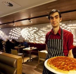 Pizza Hut restaurant, Mill Lane Arcade