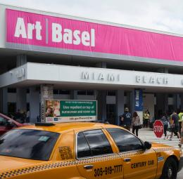International art fairs in Asia and the USA