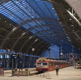 Railway station, Bergen