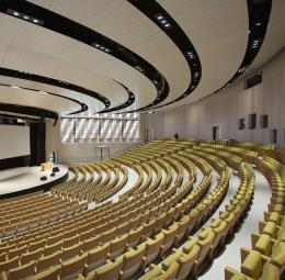 Auditorium of the Aula Medica at the Karolinska Institutet, Stockholm
